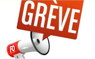 Préavis de grève FO CMA à partir du 17/12/19