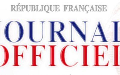 Journal Officiel – décisions CPN 52 du 26/03/19